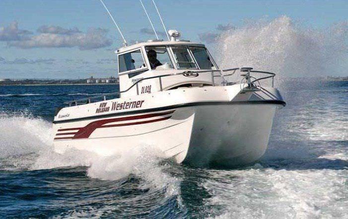 bateau de peche catamaran