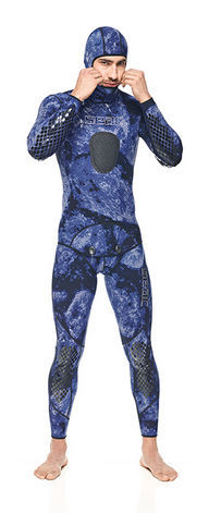 SEAC Combinaison Makaira 2mm en Bleu Camouflage hSxfisop5