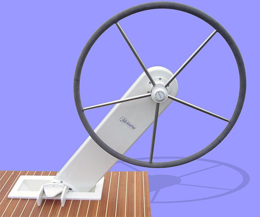roue inox pivotante