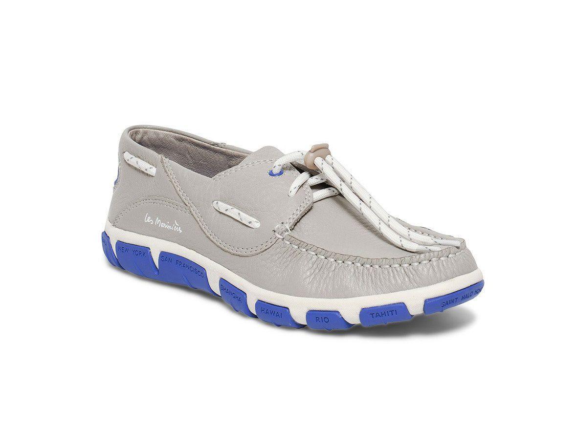 et loisir sport pour de Chaussure en cuir nautiques femme tqZxExw