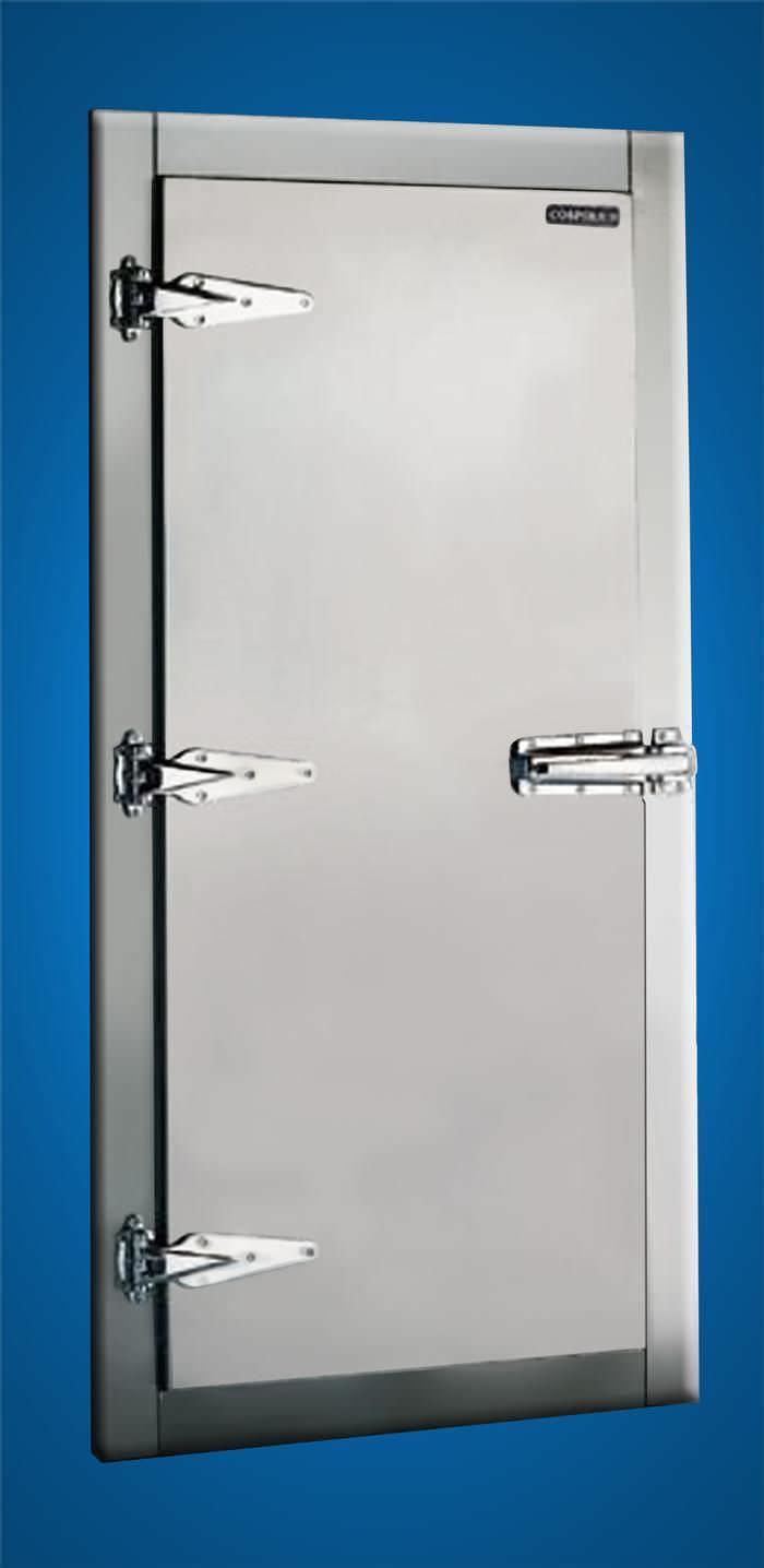Porte pour navire / pour chambre froide - WIDFC / WIDFC(MIL ...