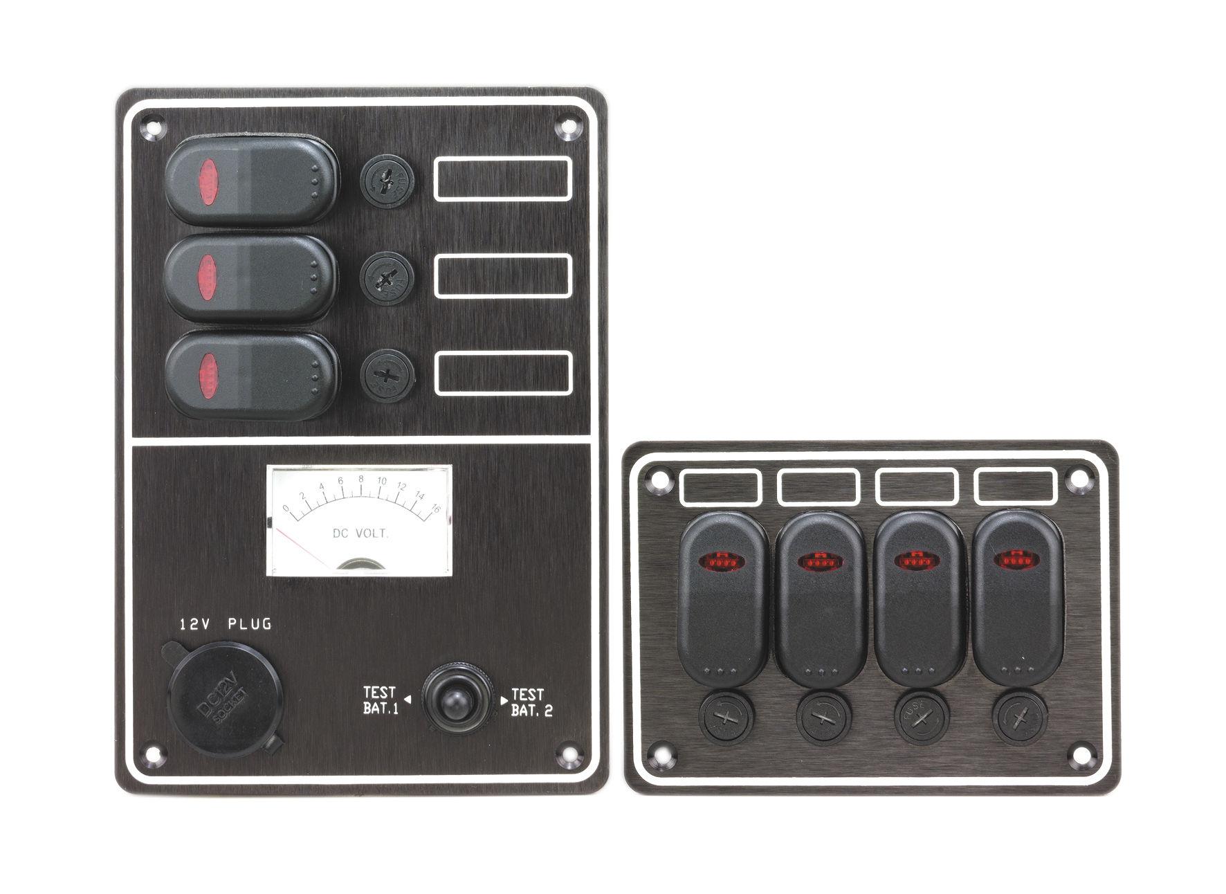 Tableau De Commande Pour Bateau Pour Circuit électrique Avec - Porte fusible 12v