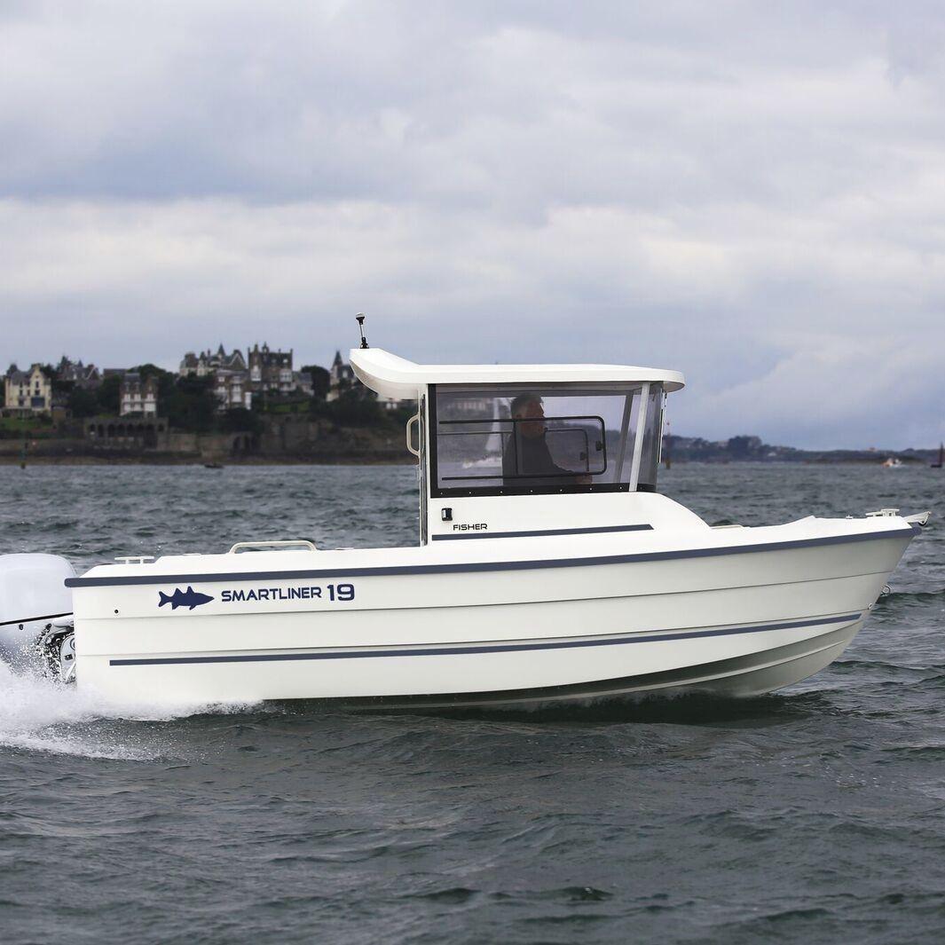 bateau de peche fisher