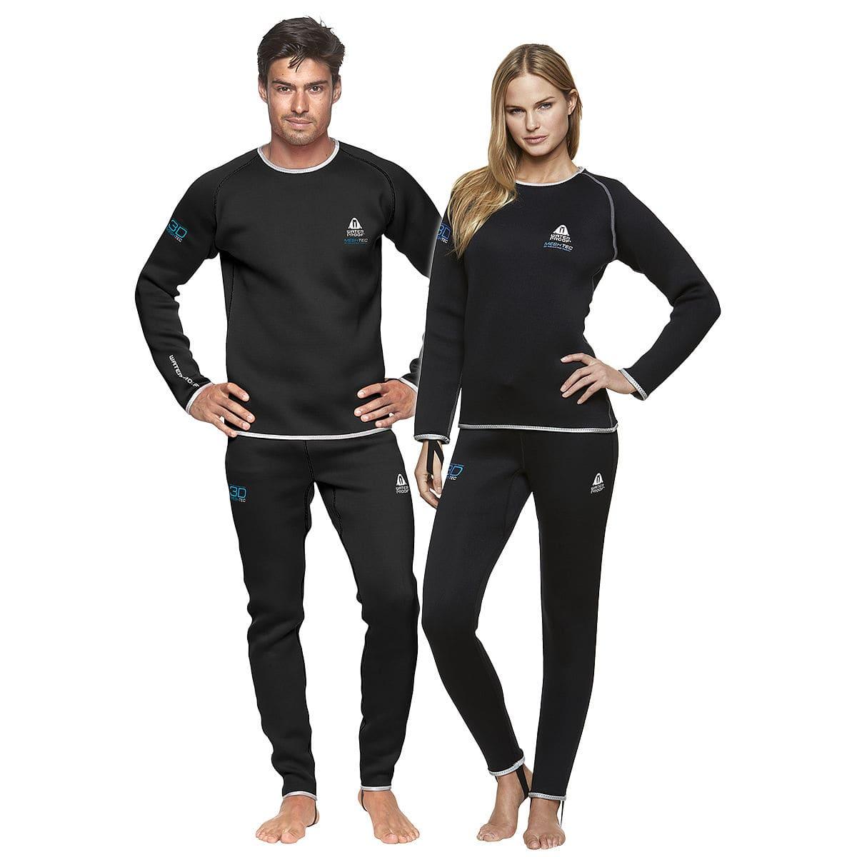 6741695d4ae Pantalon sous-vêtement pour homme   pour femme - MESHTEC ...