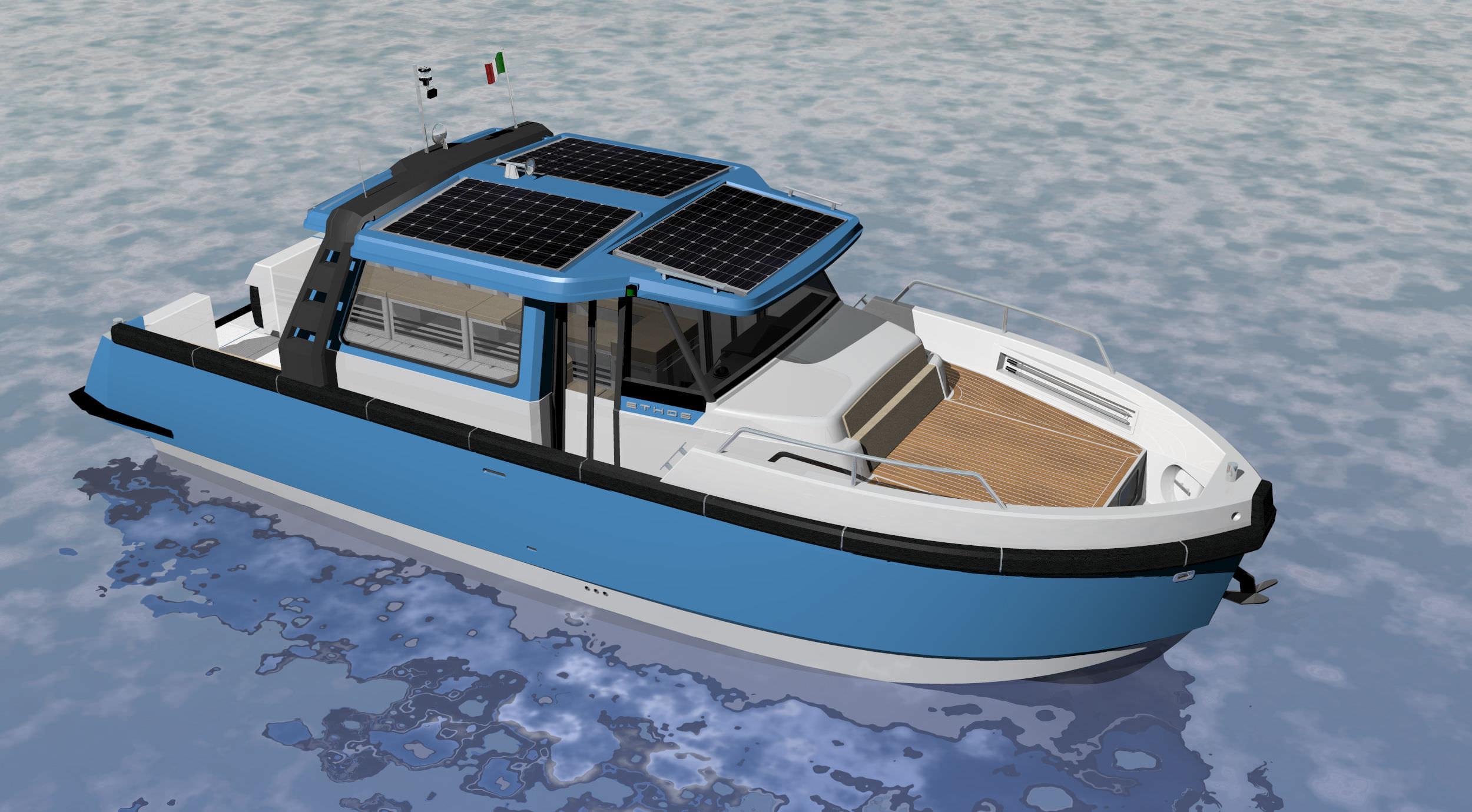 bateau hybride