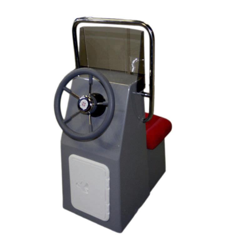 Console de pilotage centrale / avec siège avant - Small - FJORDSTAR, on