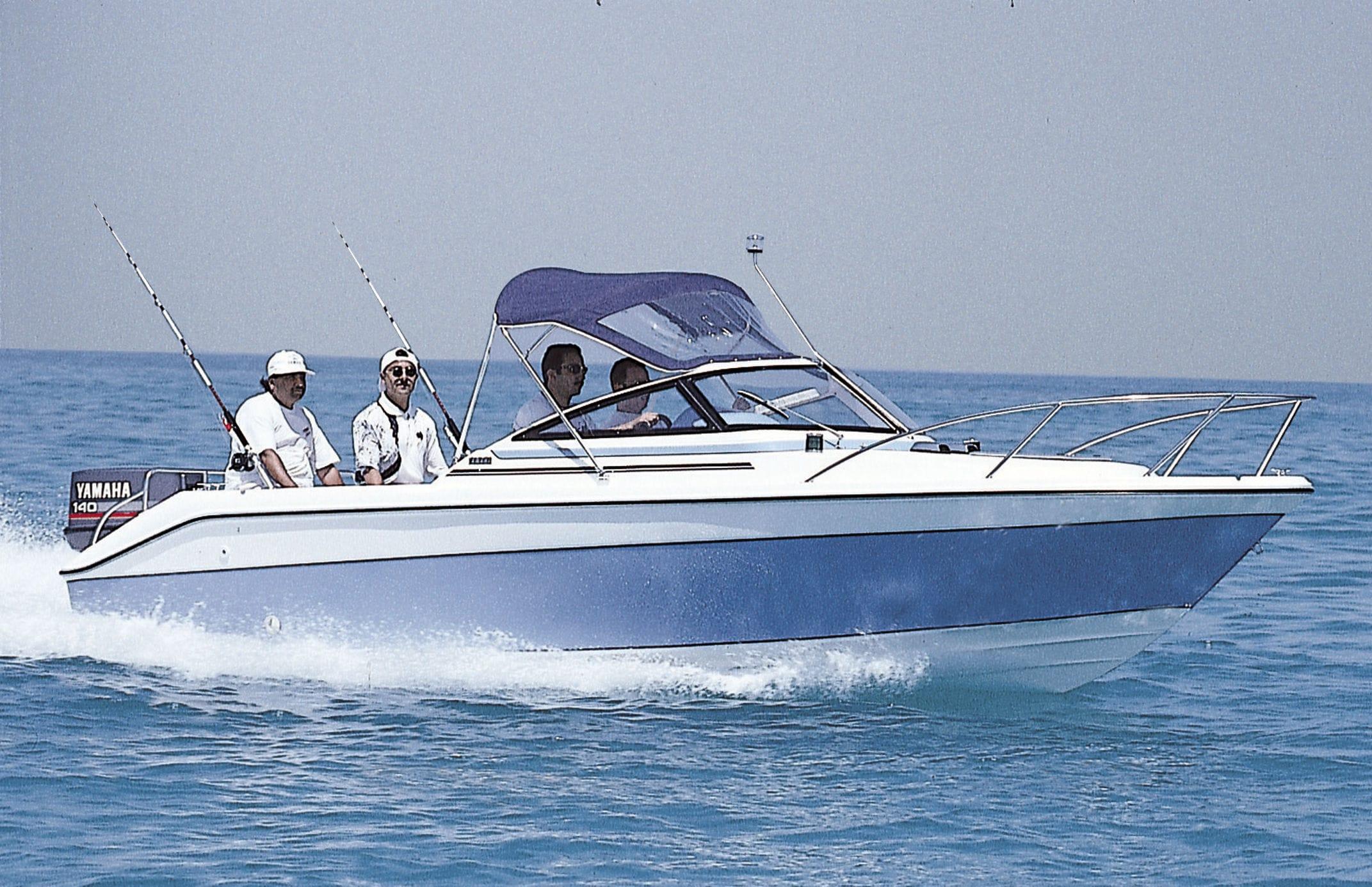 bateau de peche yamaha