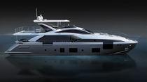 Motor-yacht de croisière / à fly / en fibre de carbone / coque planante