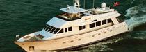Motor-yacht rapide / à fly / à déplacement