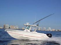 Coque open hors-bord / bi-moteur / à console centrale / de pêche sportive
