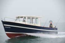Bateau de pêche-promenade hors-bord / in-bord / avec timonerie / max. 8 personnes