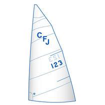 Grand-voile / pour voilier de course / pour quillard de sport monotype