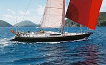 Sailing-yacht de course-croisière / cockpit ouvert / sur mesure