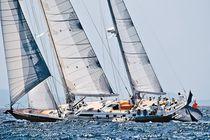 Sailing-yacht de course-croisière / cockpit ouvert / ketch / sur mesure