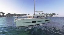 Catamaran / de croisière / cockpit ouvert / 3 ou 4 cabines