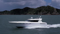 Motor-yacht de sport / hard-top / PRV / à déplacement
