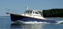 Cabin-cruiser in-bord / hard-top / lobster