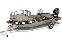 Jon boat hors-bord / à console latérale / de pêche sportive / max. 4 personnes