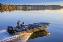 Jon boat hors-bord / de pêche sportive / en aluminium / max. 8 personnes