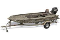 Jon boat hors-bord / de pêche sportive / en aluminium / max. 3 personnes