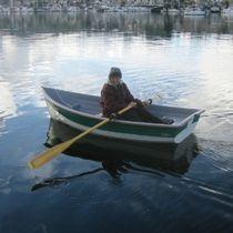 Canot traditionnel à rames