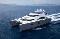 Motor-yacht catamaran / de croisière / à fly / en composite