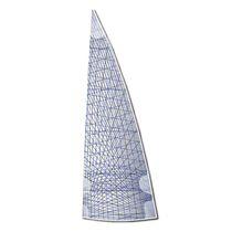 Grand-voile / pour voilier de régate / à membrane