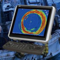 Sondeur de pêche pour bateau / couleur / numérique / omnidirectionnel