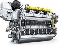 Moteur pour navire / de propulsion / bi-carburant