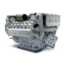 Moteur pour navire diesel / turbo