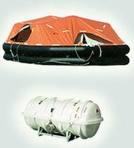 Radeau de survie pour navire / SOLAS / à déploiement par bossoir / gonflable