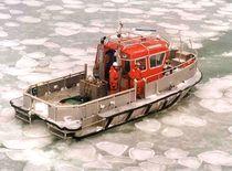 Bateau de travail polyvalent in-bord / catamaran