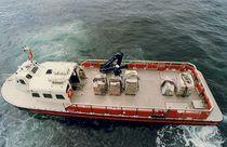 Bateau de transport logistique en aluminium