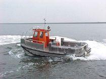 Bateau de service offshore catamaran / en aluminium / hydrojet