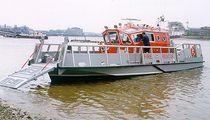 Bateau de débarquement in-bord