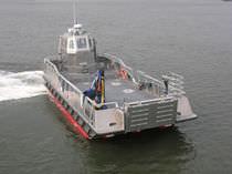 Bateau de débarquement en aluminium