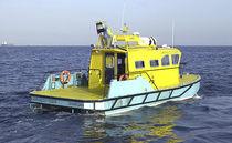 Bateau de surveillance in-bord / catamaran / hydrojet