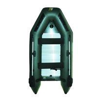 Bateau pneumatique pliable / pour la pêche / plancher latté