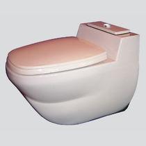 WC pour navire / à aspiration par le vide / suspendu