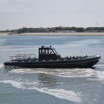 Bateau militaire bateau pneumatique semi-rigide