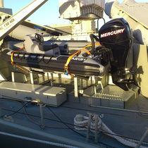 Bateau militaire hors-bord / bateau pneumatique semi-rigide / en aluminium
