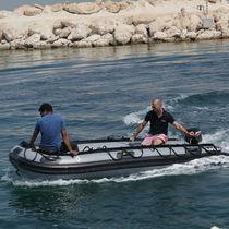 Bateau militaire hors-bord / bateau pneumatique / pliable