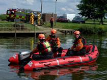 Bateau de sauvetage hors-bord / bateau pneumatique