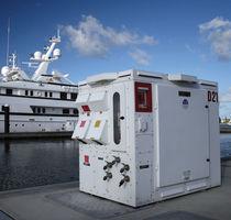 Borne de distribution électrique / pour ponton / pour yacht