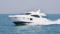 Motor-yacht rapide / à fly / coque à déplacement