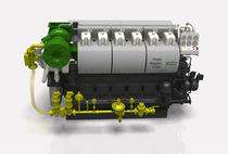 Groupe électrogène pour navire / diesel / semi-rapide