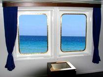 Fenêtre pour navire / fixe / rectangulaire