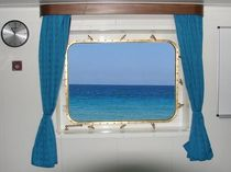 Fenêtre pour navire / ouvrable / rectangulaire