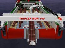 Grue pour navire / sur rail / de pont