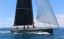 Sailing-yacht de course-croisière / traditionnel / cockpit ouvert / 5 cabines